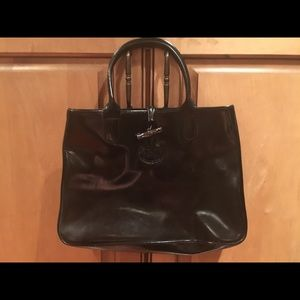 Longchamp Patent Leather Bag